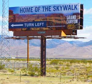Grand Canyon Skywalk Sign