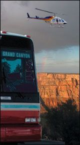 Grand Canyon South Rim Bus Tour with Helicopter