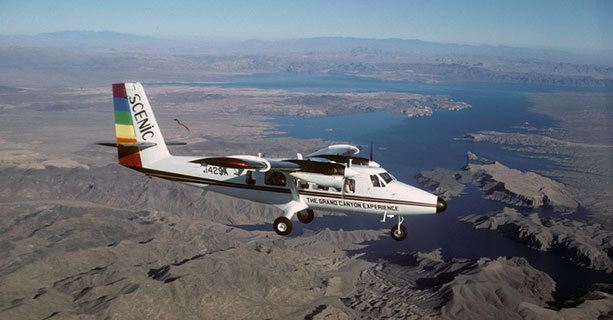 Scenic Twin Otter - Lake Mead