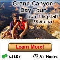 Grand Canyon Day Tour from Flagstaff and Sedona - Button
